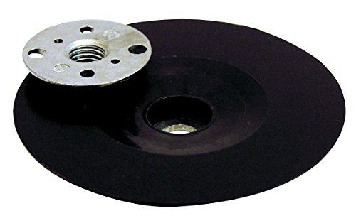 Leman 127.06 Plato caucho para disco de fibra para amoladora