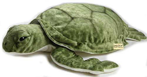 Schildkröte Wasserschildkröte ca.57 cm Kuscheltier Plüschtier Stofftier 153 von Zaloop®