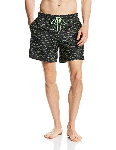Jack & Jones Tech pantaloni da nuoto uomo csoothe Swims pantaloncini, Uomo, Schwimmhose Csoothe Swimshorts, nero, L
