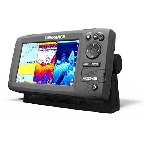 Lowrance Fischfinder/kartenplotter Hook 7 ohne Transducer, 000-12663-001