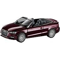 Audi 5011303322 Miniatura A3 Cabriolet Cabrio, 1:87, Shiraz Red
