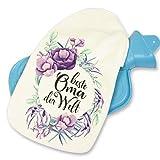 Wärmflasche Beste Oma der Welt Geschenk Blumenkranz (Oma)