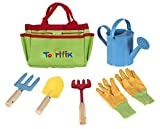 #4: Little Gardener Tool Set With Garden Tools Bag For Kids Gardening - Kit Includes Watering Can