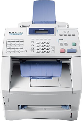 fax brother Brother FAX-8360P Laser-Faxgerät, weiß