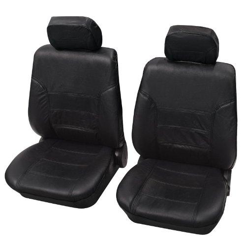 Preisvergleich Produktbild Faszination 33508, Autositzbezug Sitzbezug Schonbezug, Vordersitzgarnitur, Schwarz Anthrazit , passend für