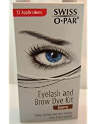 Swiss-O-Par Colorations pour les Sourcils et Cils Brown
