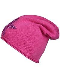 52ca50fa5d0a72 Cashmere Dreams Slouch-Beanie-Mütze mit Kaschmir - Hochwertige Strickmütze  für Damen Mädchen -