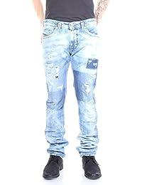 Diesel Mens Diesel Mens Thavar 0840S Slim Skinny Jeans