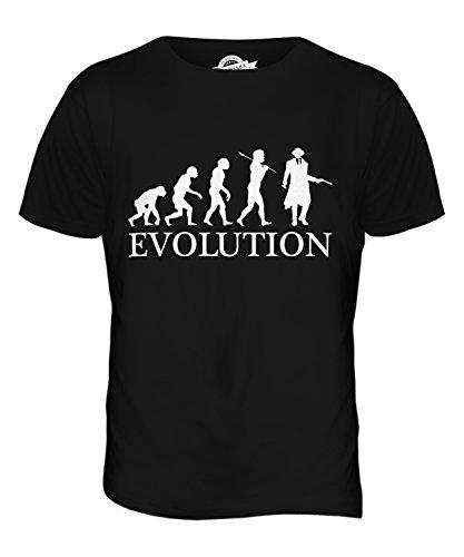 CandyMix Mafia Evolution Des Menschen Herren T Shirt Schwarz