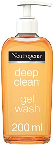 Neutrogena, Facial Wash, Deep Clean, Gel, 200ml