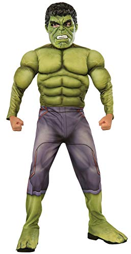 Marvel Avengers - Age of Ultron - Deluxe Hulk Kostüm (5-7 Jahre; 132cm) [UK ()