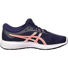 ASICS Women's Patriot 11 Running Shoes, Peacoat/Sun Coral, 6 UK (39.5 EU)