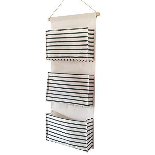 Ebeta hanging organizer porta muro organizzatore tasca porta sacca portaoggetti appesa per il bagno di guardaroba d'ingresso 3 grande tasca