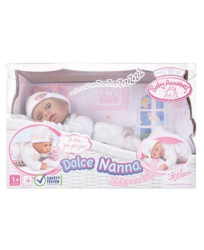 Imagen 1 de Baby Annabell 790281 - Mi Primera Dulces Sueños (Bandai)