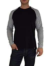 Gorilla-Star Herren Langarm-Shirt/Sweatshirt mit hochwertigem 3D-Stick auf dem Rücken Größe S bis 4XL