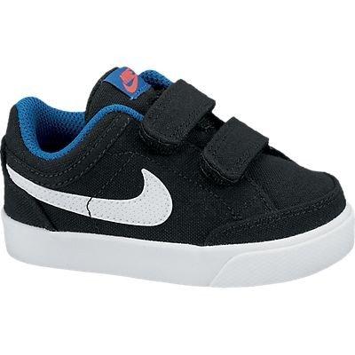 Nike Sneaker Capri 3 TXT (TDV) Schwarz/Weiß/Blau EU 22