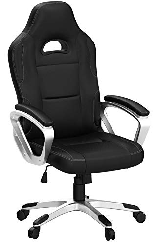 IntimaTe WM Heart Racing Gamer, Escritorio Gaming Silla Giratoria de Oficina, Altura...