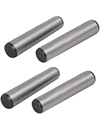 Tradico® Carbon Steel GB117 80mm Length 16mm Small End Diameter Taper Pin 4pcs
