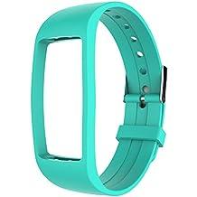 Activity Tracker IP67, GULAKI Orologio Fitness Tracker Cardio Contapassi Cardiofrequenzimetro da Polso Braccialetto Bluetooth Impermeabile IP67 per Outdoor Corsa e Ciclismo, Bracciale Smartwatch, Smar (green1)