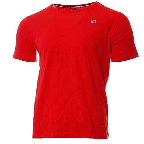 Tommy Hilfiger Herren T-Shirt rot (500) S