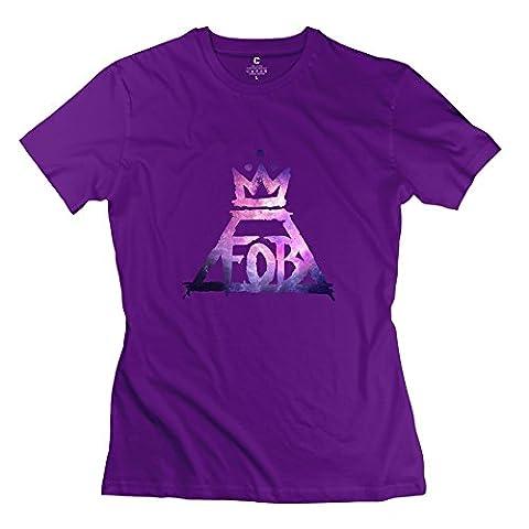 KST - T-Shirt - Femme - Violet - M