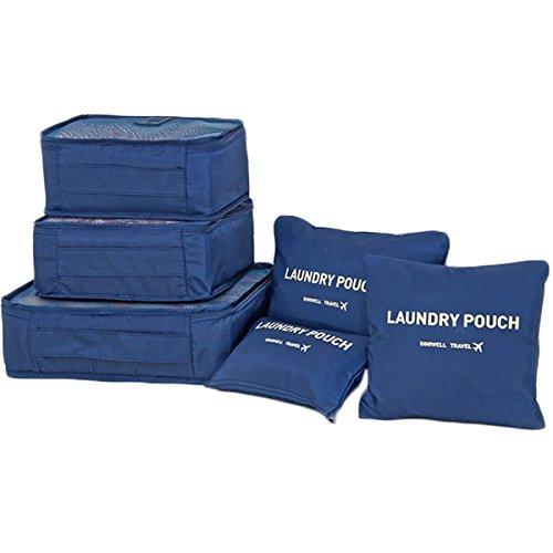 Txian - Organizador para maletas , azul marino (azul) - 1337