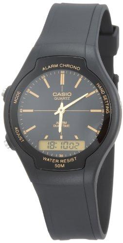 Casio watch with Movement Japanese Quartz Movement Unisex Unisex Unisex aw-90h-9e 39mm