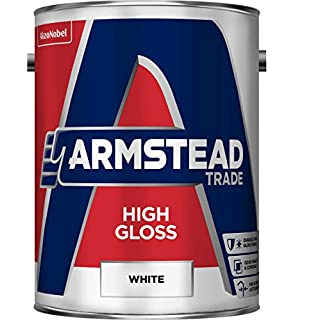 Armstead Trade High Gloss Paint White 5 Litres