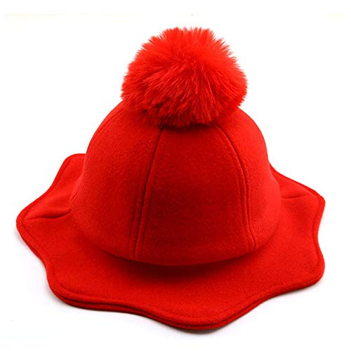 ischerhut, Dongmau Warm Hut Herbst Winter Atmungsaktive Warme Junge Mädchen Hut,Red ()