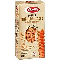 Barilla Pasta ai Legumi senza Glutine Fusilli con Farina di Lenticchie Rosse - 250 gr