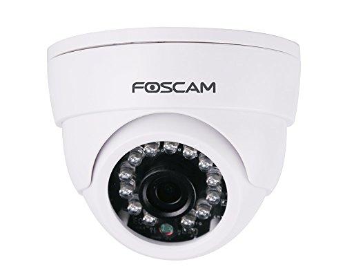 Foscam FI9851P V2–Kamera IP WLAN HD 720p (1.0Megapixel), Nachtsicht 10m, Motion Detection mit E-Mail Alert, ONVIF, P2P EZLink