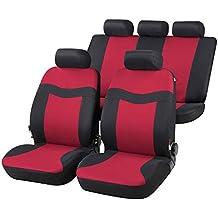 RMG r02it127 Asientos COMPATIBLES para Santa Fe fundas coche R02 rojos grises para asientos con airbag