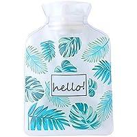Dabixx Cartoon Transparent Kunststoff Heißwasserbeutel Anti-undichte Mini Tragbare Handwärmer Blätter preisvergleich bei billige-tabletten.eu
