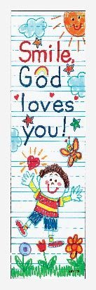 Smile, God Loves You! (Christian Bookmarks) by Carson-Dellosa Publishing (1999-01-29)