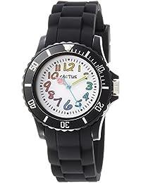 Cactus CAC-62-M01 - Reloj de pulsera niños, Plástico, color Negro