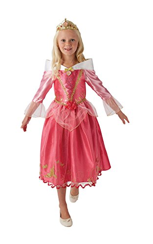 Rubie's Disney Princess Dornröschen Aurora Deluxe-Kostüm für (Aurora Beauty Sleeping Kostüme)