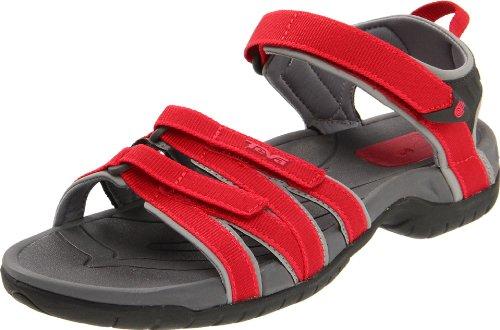 Teva Tirra W`s 9034 Sandales - Femme Rouge (Red)