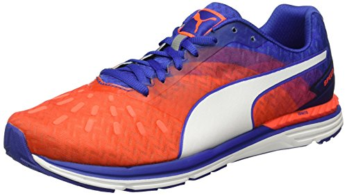 Puma  Speed 300 IGNITE Wn - Chaussures de Compétition - Femme Rouge (Red blast-Royal Blue-puma White 04)