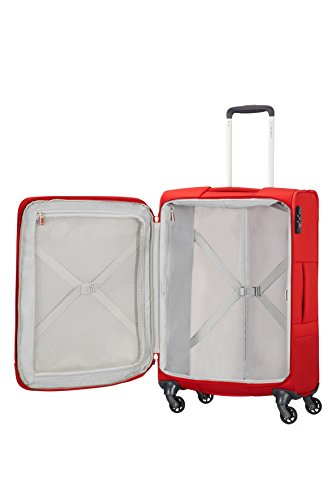 9c0ac708d9367f Samsonite - Base Boost Spinner 79202-1726 - Equipaje de mano, color Rojo,