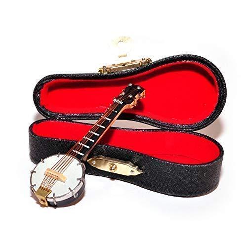 Melody Jane Puppenhaus Banjo Miniatur Musik Zimmer bar Schule Instrument (Banjo Spielzeug)