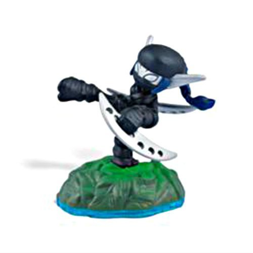 Skylanders SWAP Force Character Dark Ninja Stealth Elf (Includes Trading Card and Internet Code, no retail packaging) by (Ninja Stealth)
