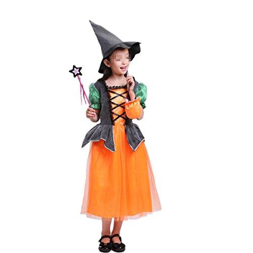 Halloween Kinder Verkleiden Sich Cosplay Party Prom Deluxe Kapuzenmantel Prinzessin (Prom Kinder Deluxe Kostüme)