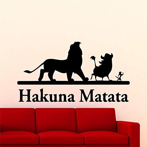 Guijiumai Lion King Etiqueta La Pared Dibujos Animados