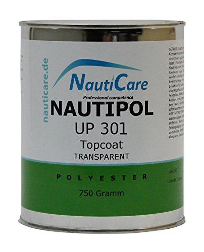 NautiCare NautiPol UP 301 Topcoat Transparent 750 g - Styrolfreies Polyesterharz - ohne MEKP Härter