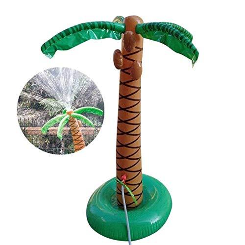 ZXL 1,6 mt Aufblasbare Coconut Palm Tree Wasser Spray Beach Party Pool Spielzeug Sommer Outdoor Spielzeug Schwimmen Sprinkler