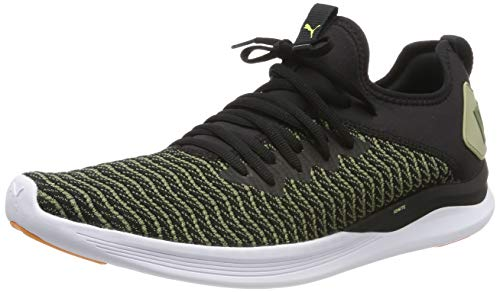 Puma Ignite Flash Daylight, Scarpe Running Uomo, Nero Black-Olivine, 42 EU