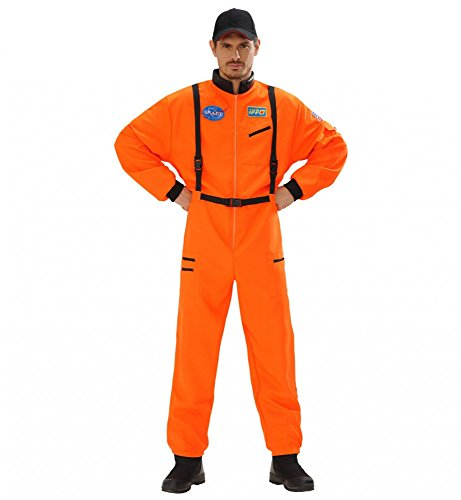 ASTRONAUT , Größe:L (Astronaut Kostüm Orange)