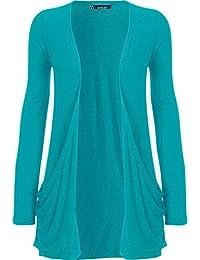 WearAll - Cardigan à manches longues - Hauts - Femmes - Tailles 36 à 50