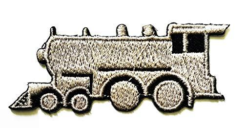 Motiv: Zug/Truck, niedlicher Zug, klein, Cartoon, Kinder, Studenten, Weste, Jacke, Biker, Biker, Tattoo, Jacke, T-Shirt, Aufnäher, Besticktes Schild, Abzeichen ()