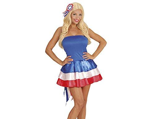 Frankreich Miss Kostüm - Widmann - Kleid Miss Frankreich